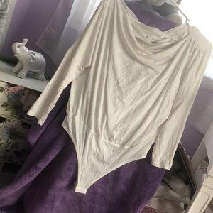 Fashion nova three-quarter sleeve bodysuit